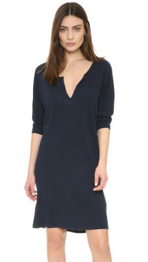 Платье Weekend Crippen. Цвет: темно-синий