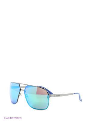 Солнцезащитные очки CARRERA. Цвет: синий, голубой