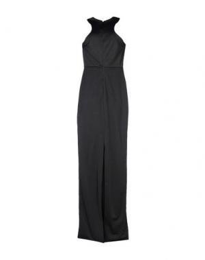 Длинное платье AQ/AQ. Цвет: черный