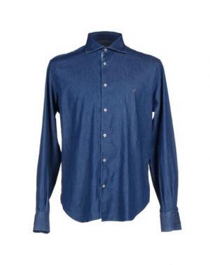 Джинсовая рубашка BROOKSFIELD ROYAL BLUE. Цвет: синий