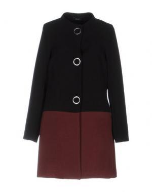Пальто XTSY. Цвет: черный