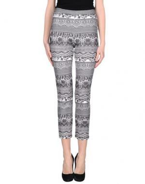 Повседневные брюки LEITMOTIV. Цвет: серый