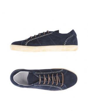 Низкие кеды и кроссовки PANTOFOLA D'ORO. Цвет: темно-синий