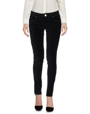 Повседневные брюки MAISON ESPIN. Цвет: черный