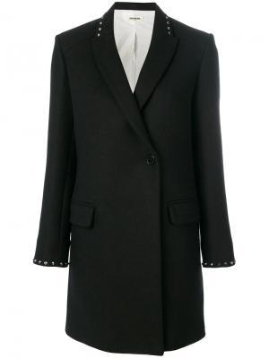 Пальто Marco Zadig & Voltaire. Цвет: чёрный