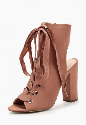 Ботильоны Ideal Shoes. Цвет: розовый