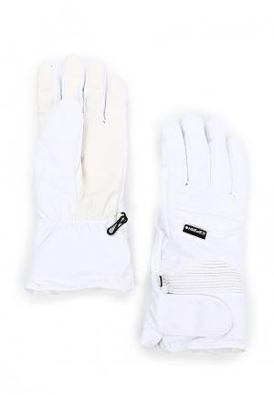 Перчатки горнолыжные Icepeak. Цвет: белый