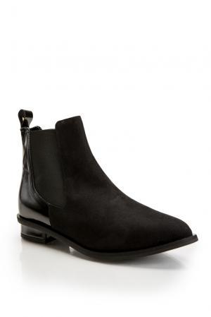 Замшевые ботинки челси 177452 Anna Rita N. Цвет: черный