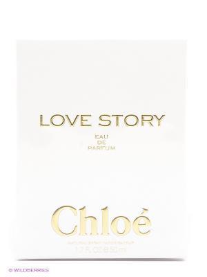 Парфюмерная вода, Love Story, 50 мл CHLOE. Цвет: белый