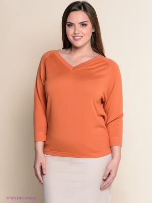Пуловер ОДЕКС-СТИЛЬ. Цвет: оранжевый