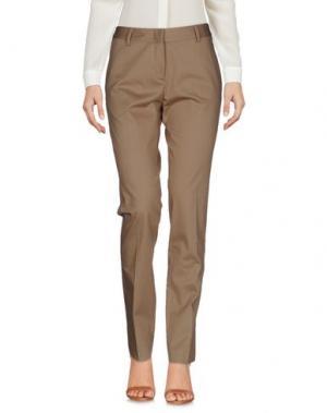 Повседневные брюки TONELLO. Цвет: песочный