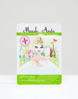 Beauty Extras Увлажняющая маска‑салфетка Maskeraide Detox Diva. Цвет: бесцветный