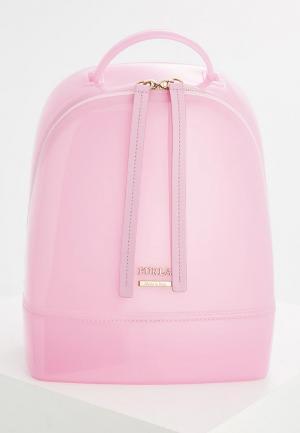 Рюкзак Furla. Цвет: розовый