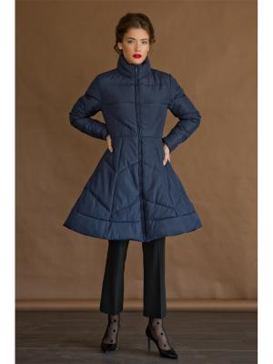 Пальто Tsurpal. Цвет: синий
