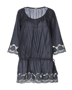 Блузка TWIST & TANGO. Цвет: свинцово-серый