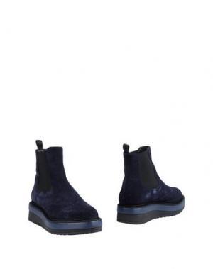 Полусапоги и высокие ботинки SAX. Цвет: темно-синий