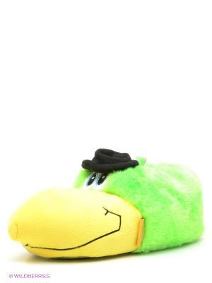 Тапочки De Fonseca. Цвет: зеленый, желтый, черный