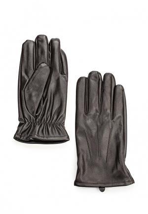 Перчатки oodji. Цвет: коричневый