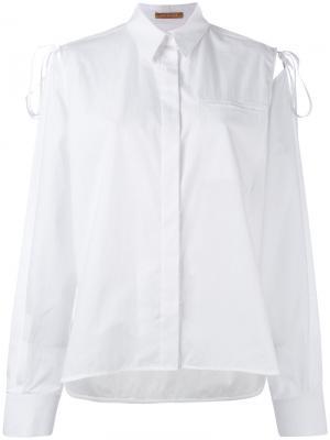 Классическая рубашка Nehera. Цвет: белый