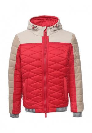 Куртка утепленная Dry Laundry. Цвет: красный