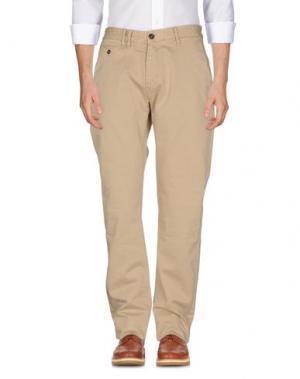 Повседневные брюки DENHAM. Цвет: бежевый