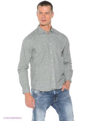 Рубашка HOLDBACK Quiksilver. Цвет: серо-зеленый