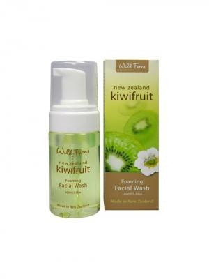 Очищающая пенка Kiwifruit Foaming Facial Wash для лица с киви, 100 мл Wild Ferns. Цвет: белый