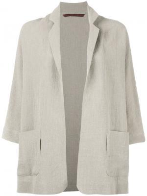 Unstructured blazer Daniela Gregis. Цвет: телесный