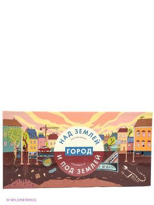 Город над землей и под Издательство Манн, Иванов Фербер. Цвет: коричневый