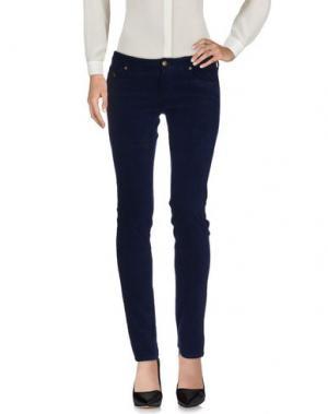 Повседневные брюки DUCK FARM. Цвет: синий