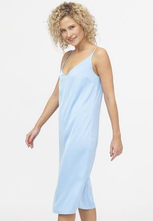 Платье TzeTze. Цвет: голубой