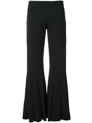 Расклешенные брюки Robert Wun. Цвет: чёрный