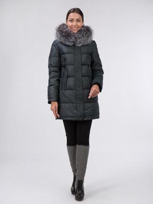 Пальто OSTRICH. Цвет: темно-зеленый