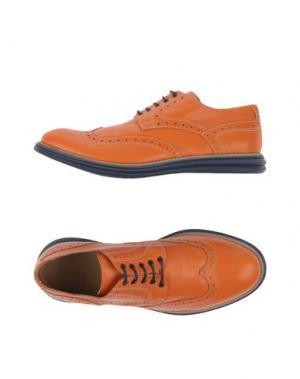 Обувь на шнурках GOLD BROTHERS. Цвет: желто-коричневый