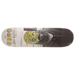 Дека для скейтборда  S6 R7 Boserio Reportrait 32.3 x 8.5 (21.6 см) Zero. Цвет: мультиколор