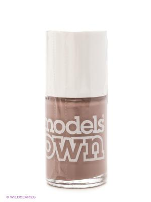 Лак для ногтей, Cream Nude Beige Models Own. Цвет: бежевый