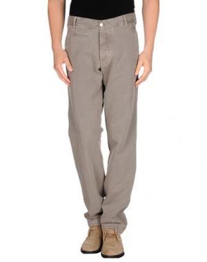 Повседневные брюки AVIO. Цвет: серый