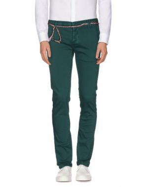 Повседневные брюки (M) MAMUUT DENIM. Цвет: зеленый