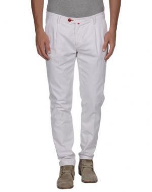 Повседневные брюки BARONIO. Цвет: светло-розовый