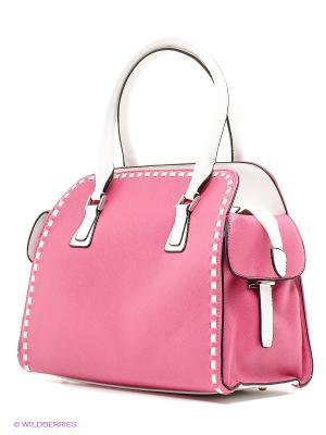 Сумка MILANA. Цвет: розовый, белый