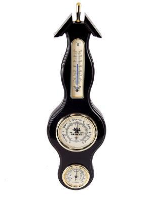 Барометр-метеостанция BRIGANT. Цвет: черный