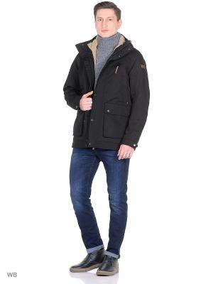 Куртка демисезонная Tenson. Цвет: черный