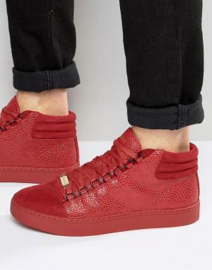 Glorious Gangsta Высокие кроссовки Paris. Цвет: красный