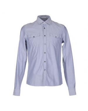 Джинсовая рубашка TOMAS MAIER. Цвет: синий