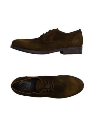 Обувь на шнурках O.X.S.. Цвет: зеленый-милитари