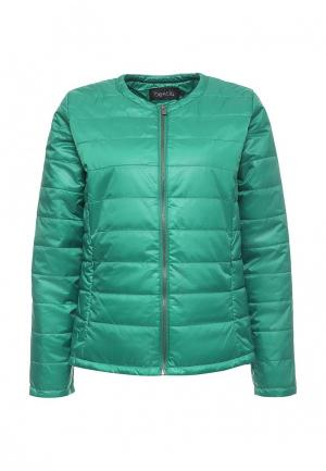 Куртка утепленная Bestia. Цвет: зеленый
