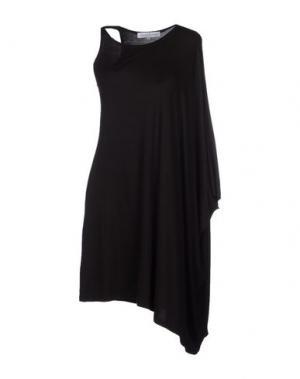 Короткое платье AMAYA ARZUAGA MAILLE. Цвет: черный