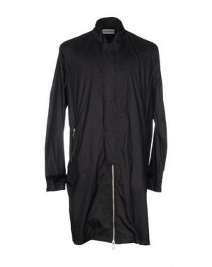 Легкое пальто HAN KJOBENHAVN. Цвет: черный