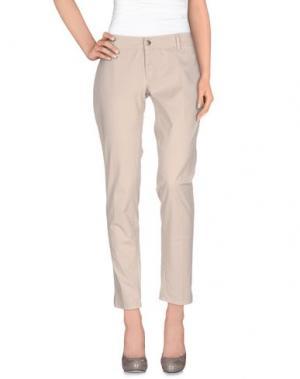 Повседневные брюки (+) PEOPLE. Цвет: светло-серый