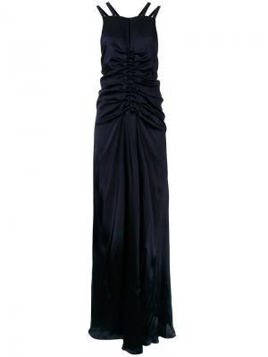 Вечернее платье Lydia Bianca Spender. Цвет: синий